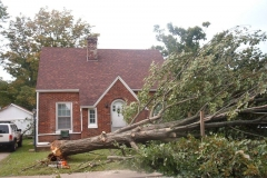 Storm Damage Before & After